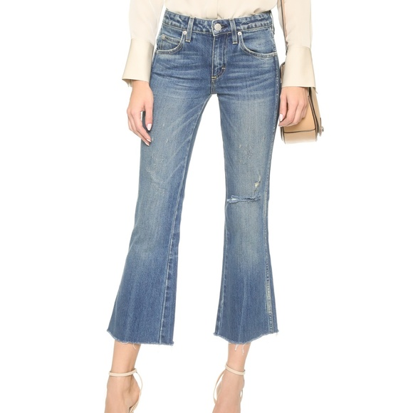 57c69458ad7d6 AMO Jeans   Crop Kick Flare 24   Poshmark